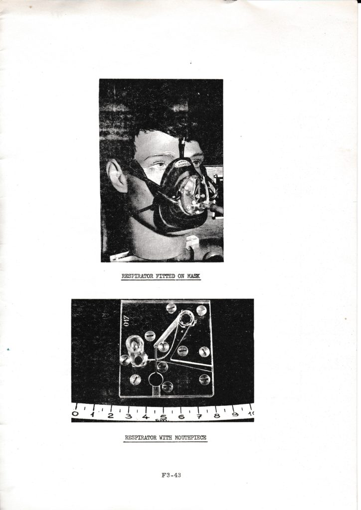 Pure Fluid Respirator with curved walls,1st Cranfield Conference on Fluidics 1965